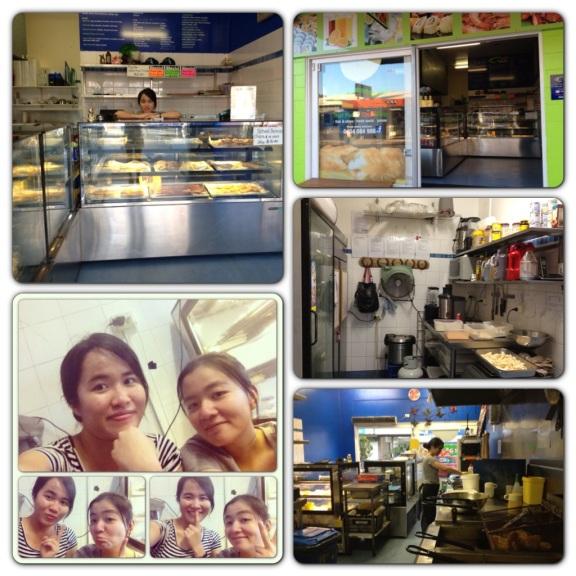 Công việc đầu tiên của Hà ở Fish n Chip shop sau 2 tháng trời tìm việc. Nói chung đi làm cũng thích vì có tiền để sống nhưng cũng có những lúc thật sự là mệt :))